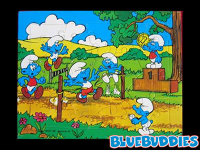 Smurf Puzzles 24 Pieces The Smurf Village Puzzle The Smurf.