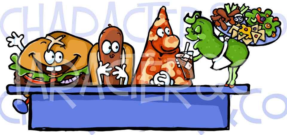 School Snack Clipart.