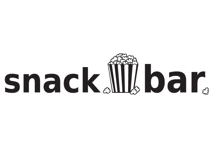 Snack Bar Sign Clip Art.