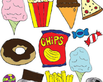 Clipart snacks food.