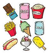 Snack Clip Art.