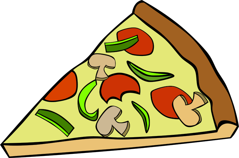 Free Clipart: Fast Food, Snack, Pizza, Pepperoni Mushroom.