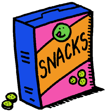 Free Snack Clip Art Pictures.