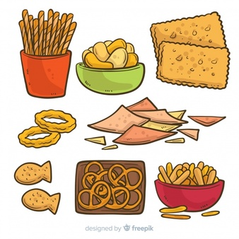 Snacks Vectors, Photos and PSD files.