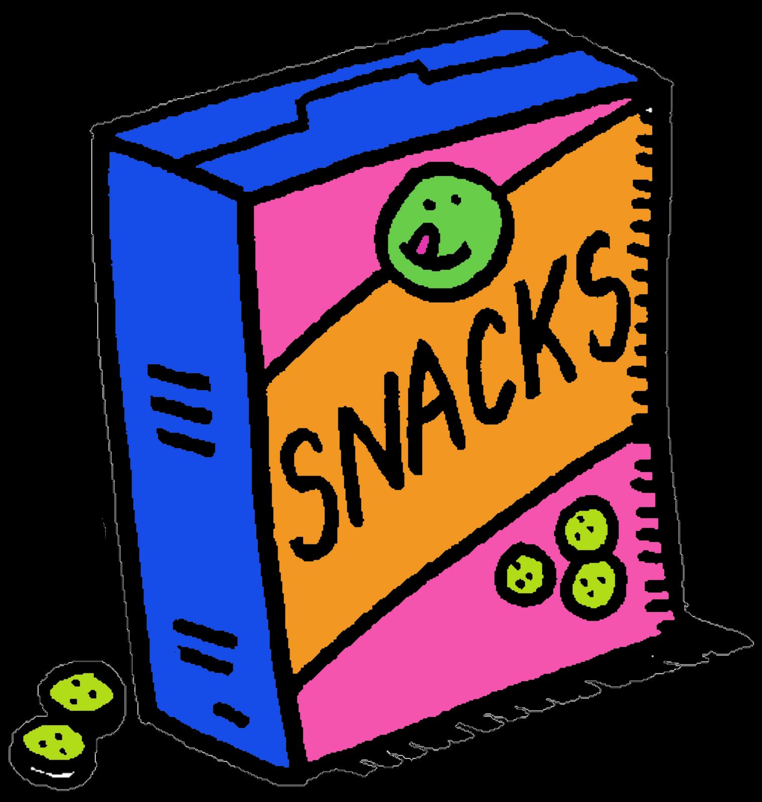 Snacks Clipart.