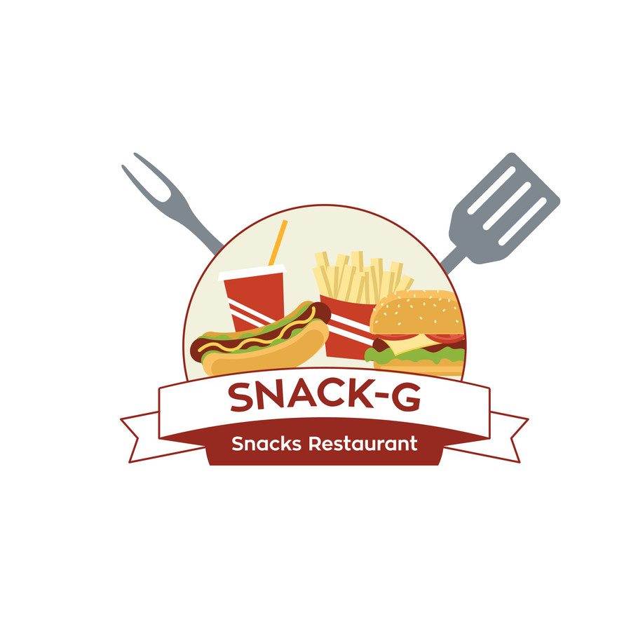 Entry #34 by aajmanzalawy for Design a Logo for: Snacks.