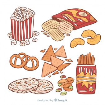 Snack Vectors, Photos and PSD files.