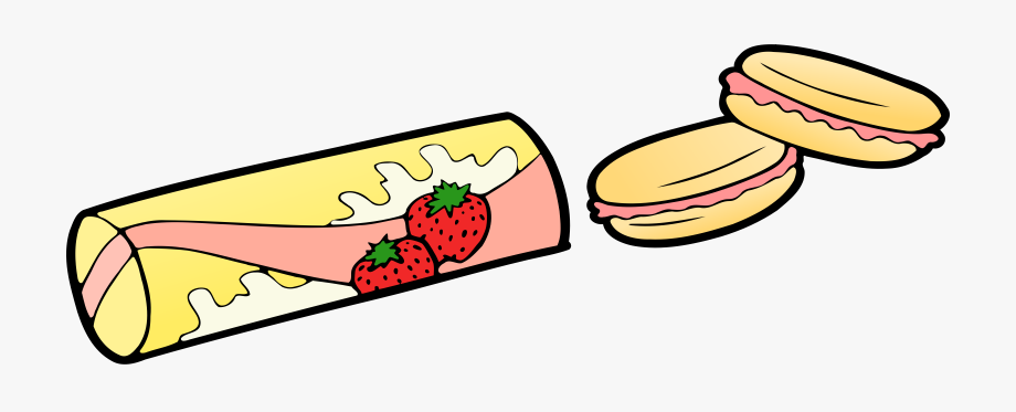Temporary Strawberry Snacks Vector Clipart Image Free.