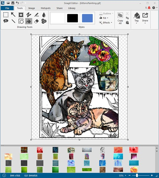 Create a Unique Work of Art Using Collage With Snagit 12.
