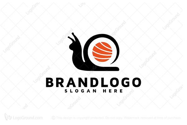 Exclusive Logo 96001, Sushi Snail Logo.