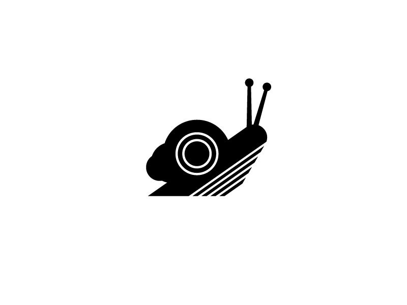 Snail logo on Behance.