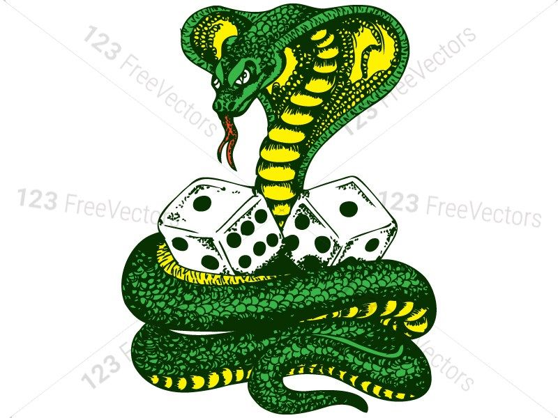Hand Drawn Snakes Vector and Photoshop Brush Pack.