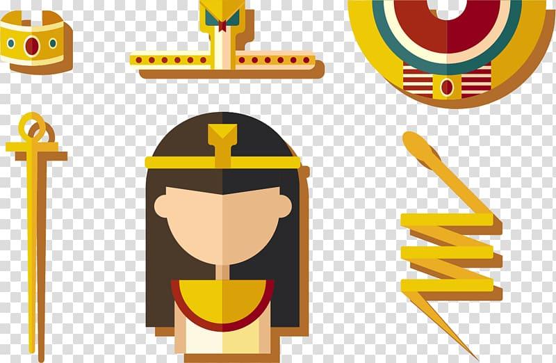 Egypt Icon, Cleopatra Snake transparent background PNG.