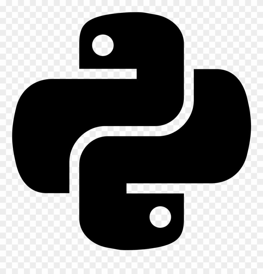 Python Logo Clipart Snake Face.