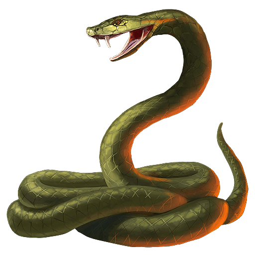 Snake Cobra transparent PNG.