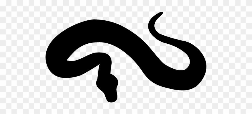 Snake Clipart Silhouette.