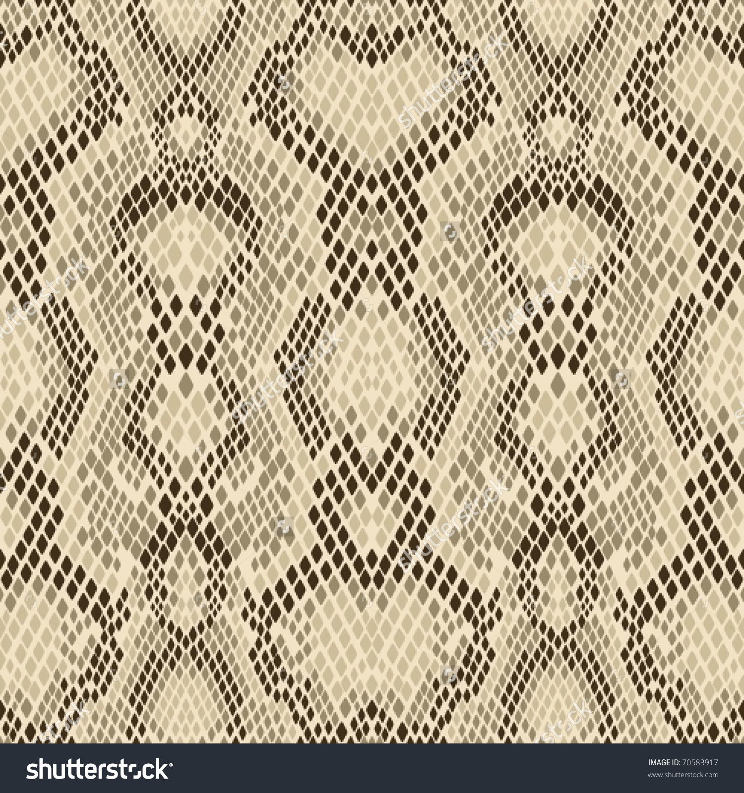 Snake Skin Pattern Light Snakeskin Snake Stock Vector 70583917.