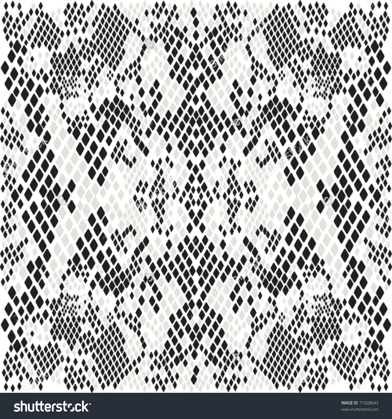 Snakeskin Pattern Stock Vector 71028643.