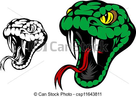 Snake tongue clipart.