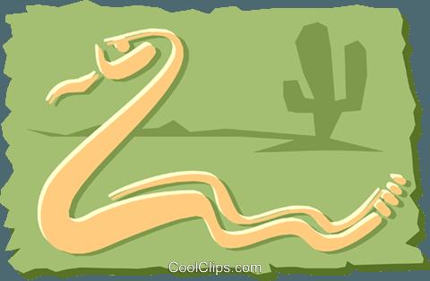 Snake Royalty Free Vector Clip Art illustration.