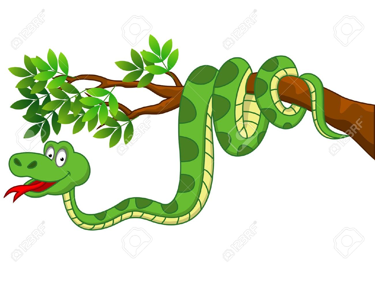 Showing post & media for Cartoon snake tree.