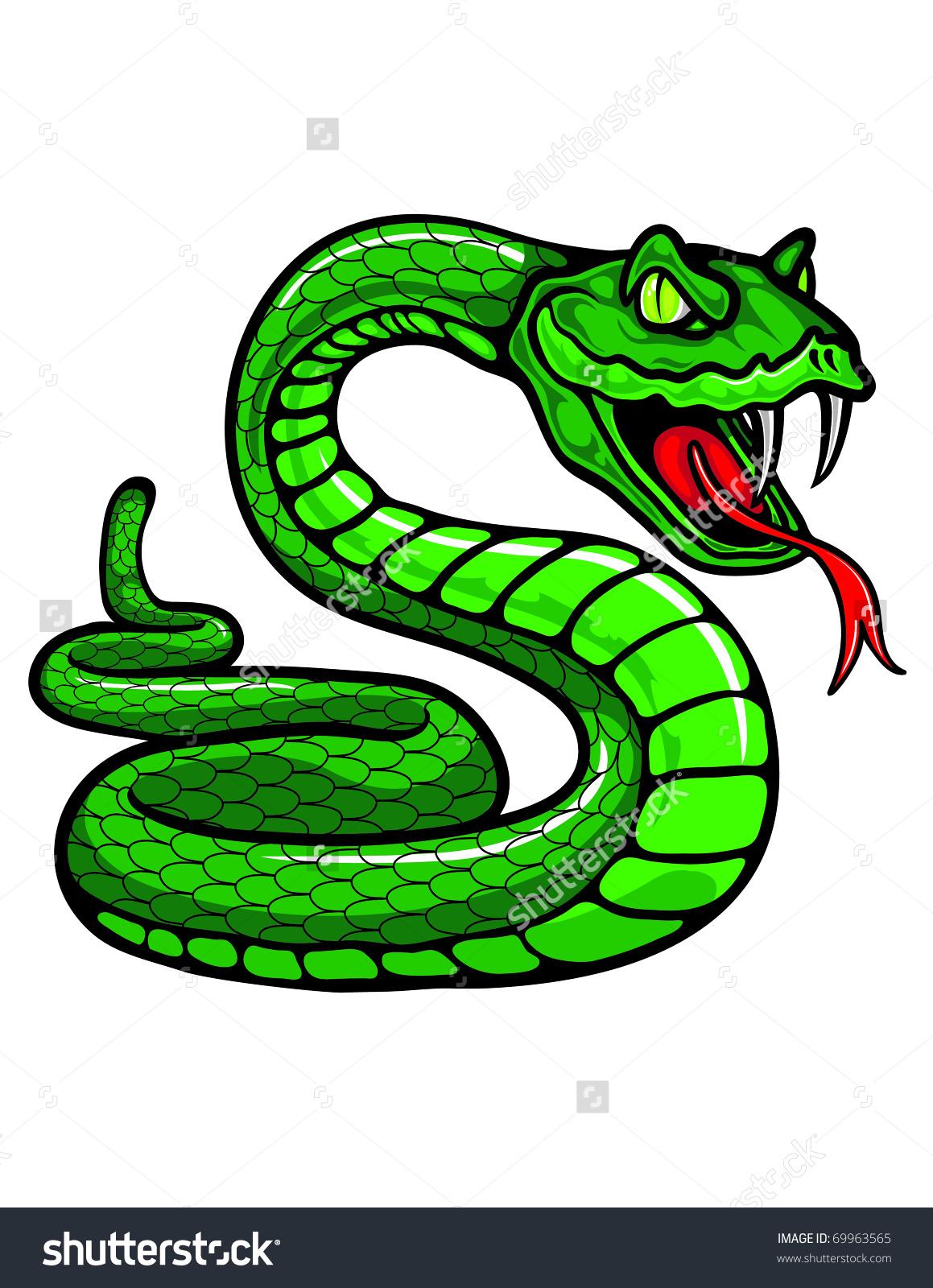 Snake tongue clipart.