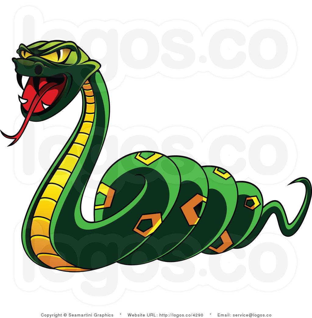 Venom snake clipart.