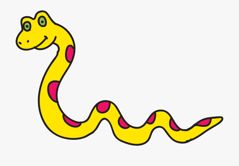 Free To Use &, Public Domain Snakes Clip Art.
