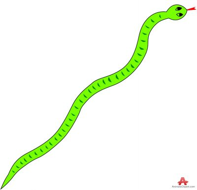 Free snakes clipart graphics images and photos.