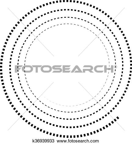 Clipart of Abstract spiral element. Twirl, swirl, whorl shape.
