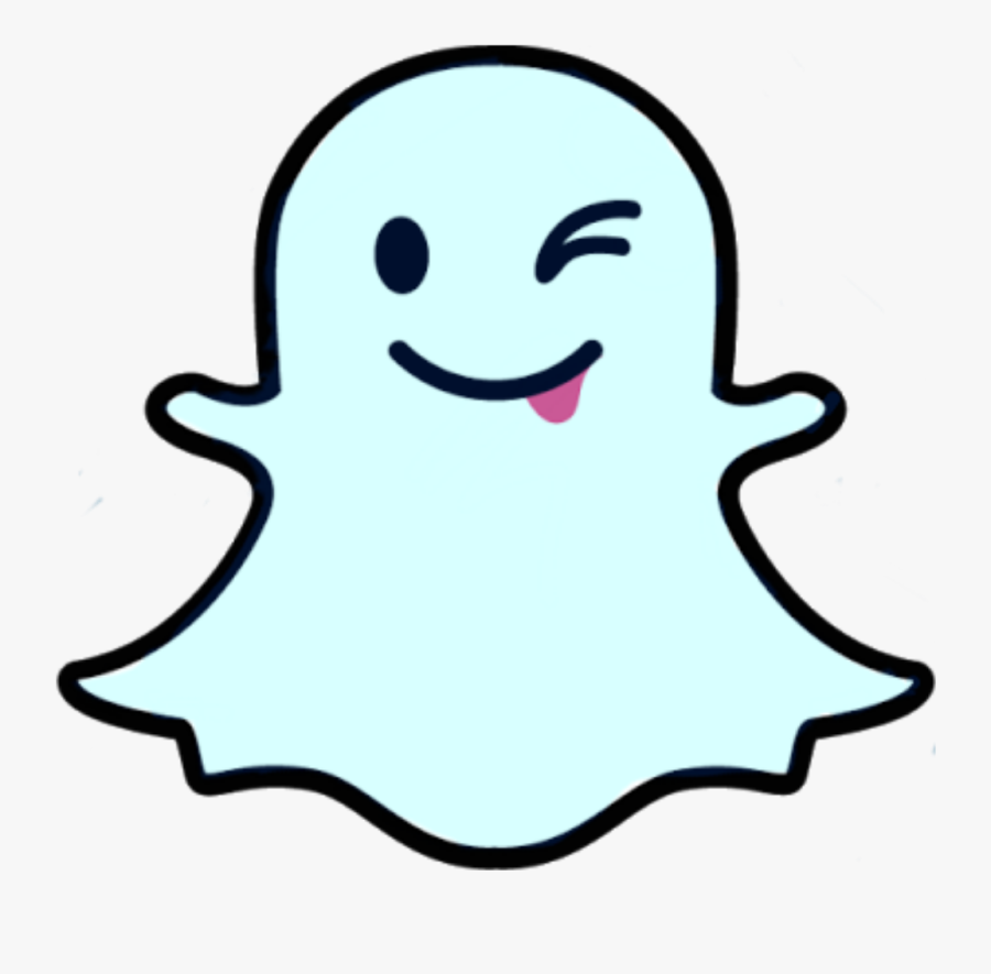 Snapchat Ghost Png , Free Transparent Clipart.