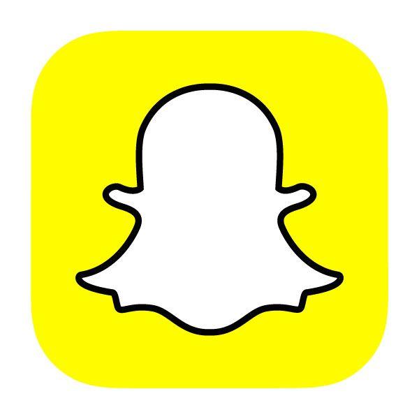 Snapchat app icon in 2019.