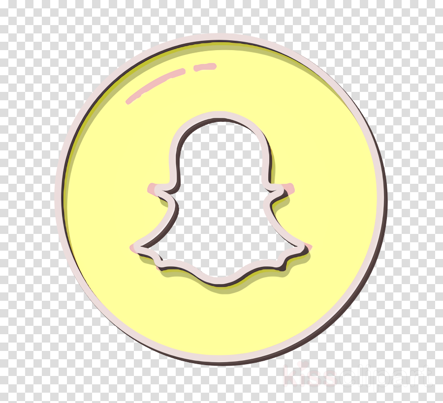 ghost icon mobile app icon snapchat icon clipart.