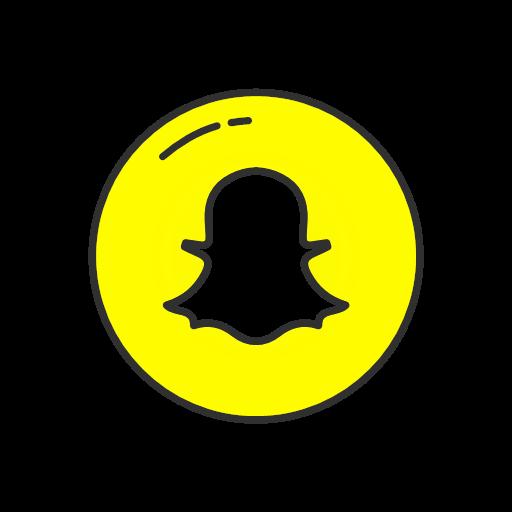 mobile app snapchat snapchat logo icon.