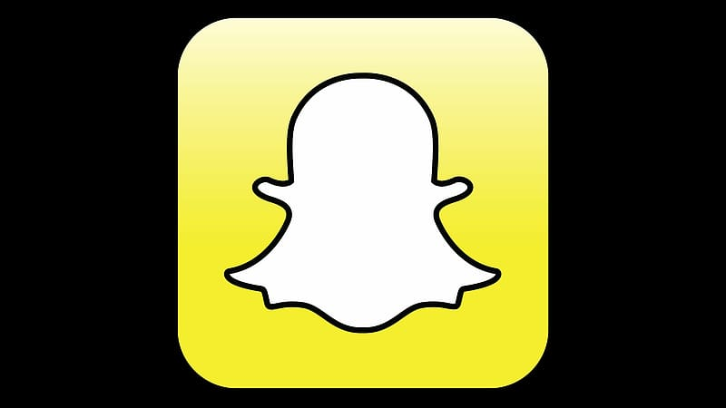 Ghost icon, Snapchat Social media Mobile app Messaging apps.