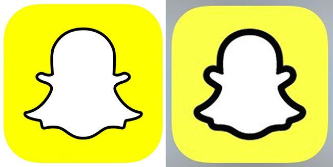 Snapchat updated its icon and everything\'s ruined.