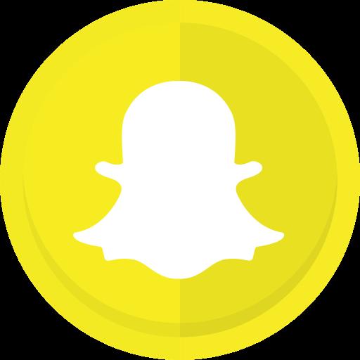 Conversation, messaging app, snapchat, snapchat logo icon.
