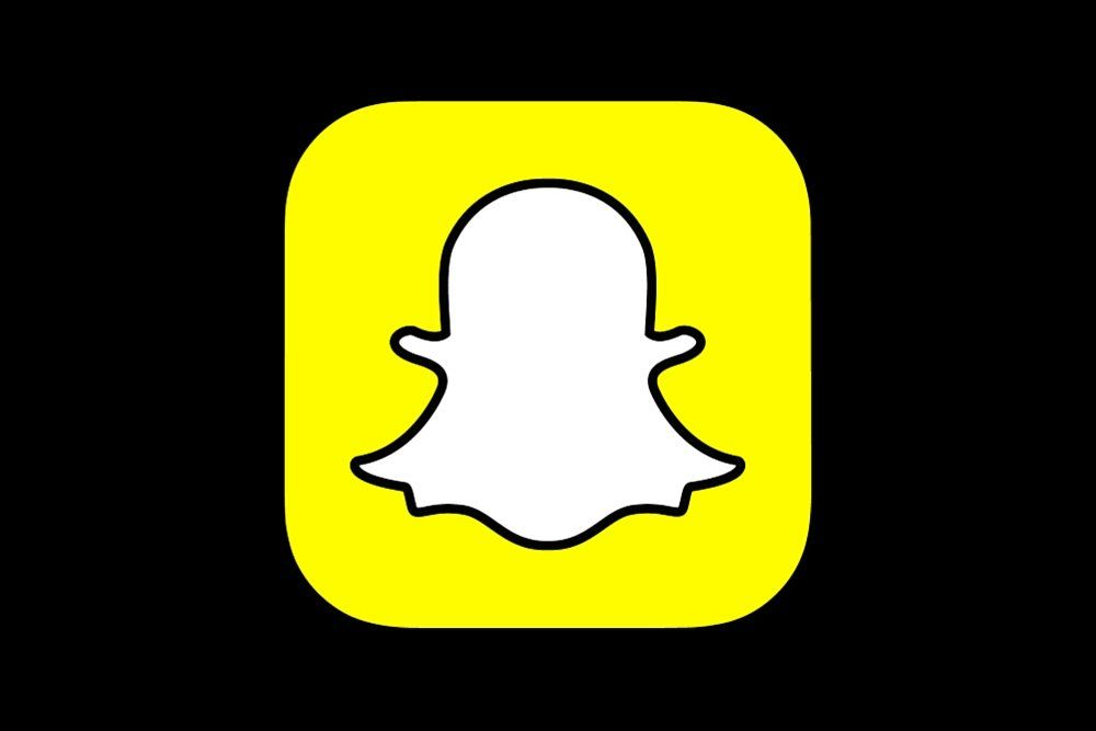 Snapchat App Logo.