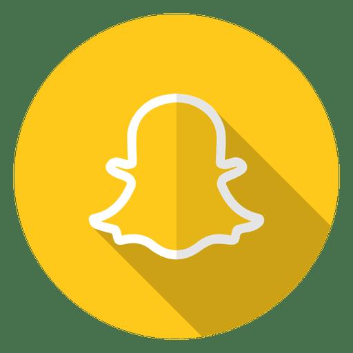 Snapchat icon logo.