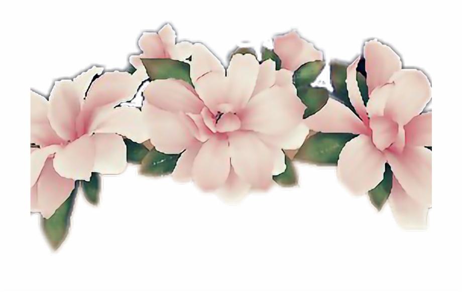 Flower Flowercrown Snapchatfilter Snapchat Girl Pink.