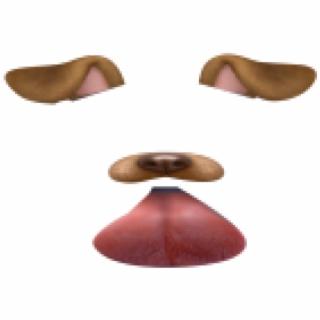 Snapchat Filters Clipart Tongue.