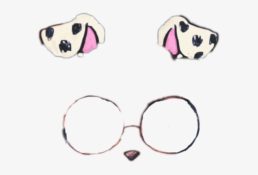 Dalmatian Clipart Dog Filter Transparent.