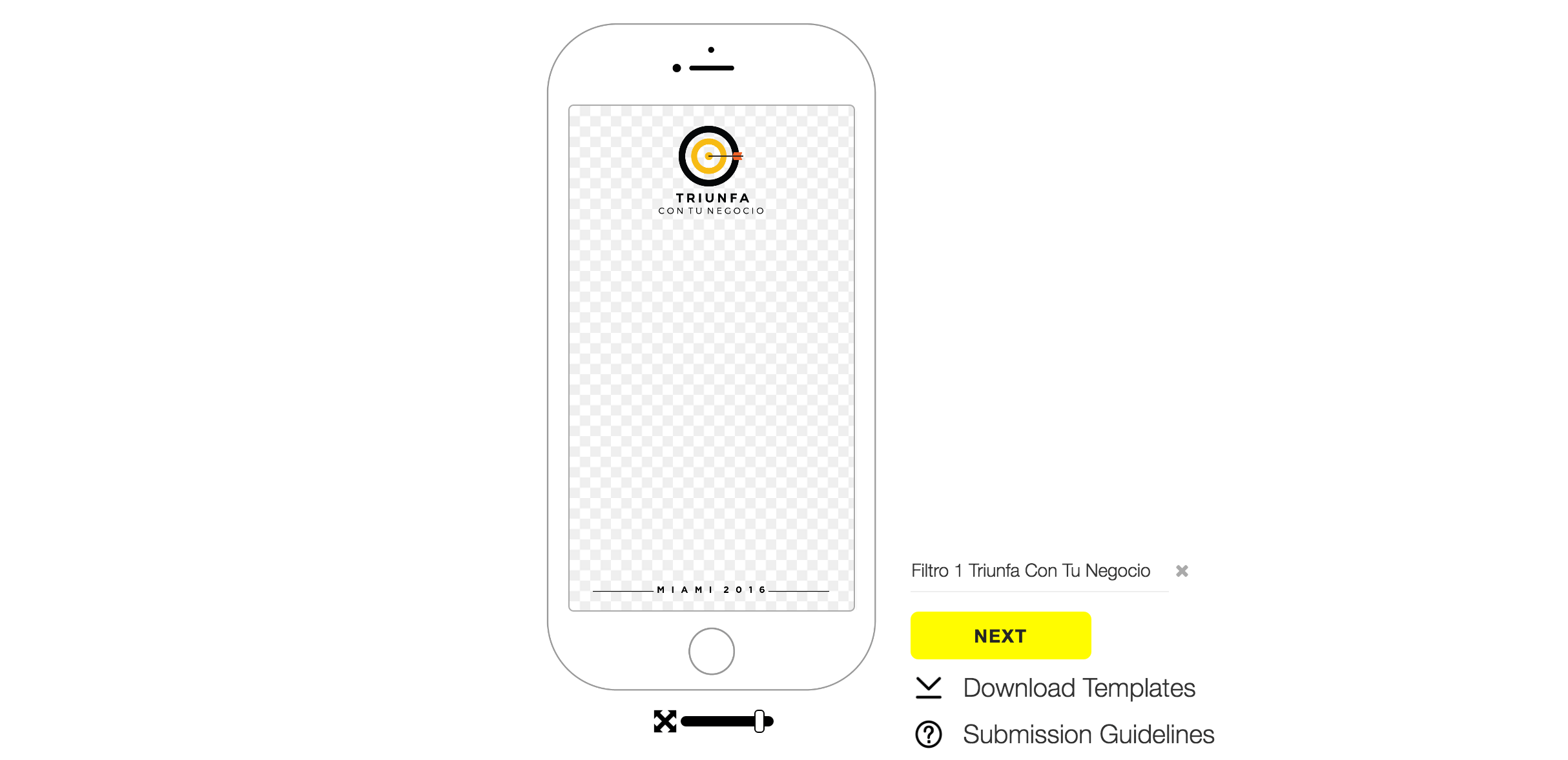 Guide to create a personalized geofilter on Snapchat.