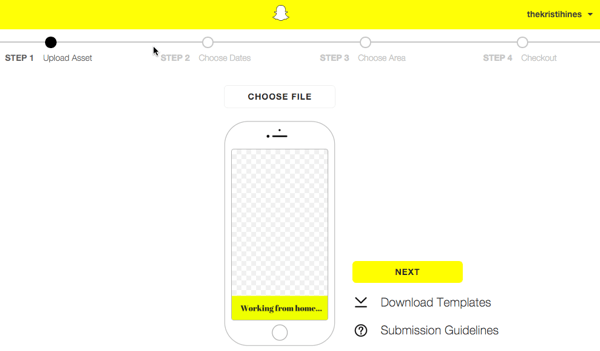How to Create a Snapchat Geofilter for Your Event : Social.