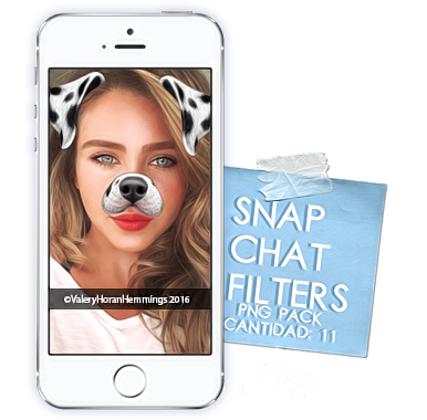 Snapchat Filters Png Pack (Part 2) by valeryscolors on.