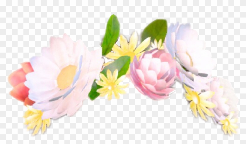 Snapchat Flowercrown Stickerfreetoedit Report.