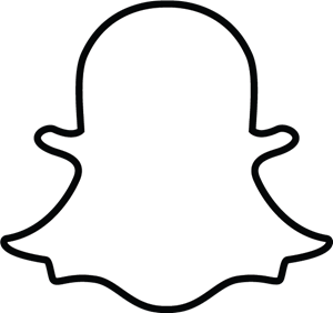 Snapchat ghost Logo Vector (.EPS) Free Download.