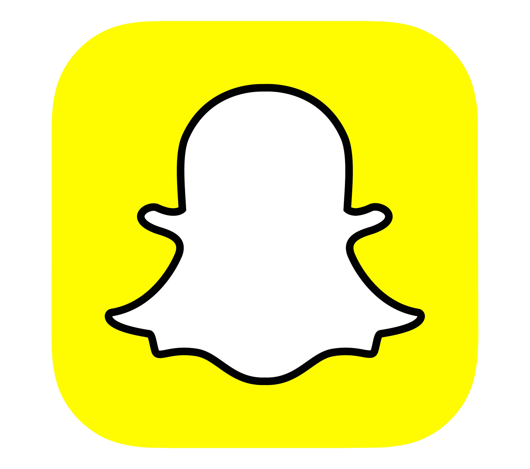 Meaning Snapchat logo and symbol.