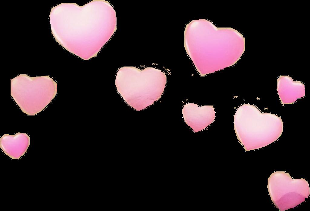HD Snapchat Hearts Png.