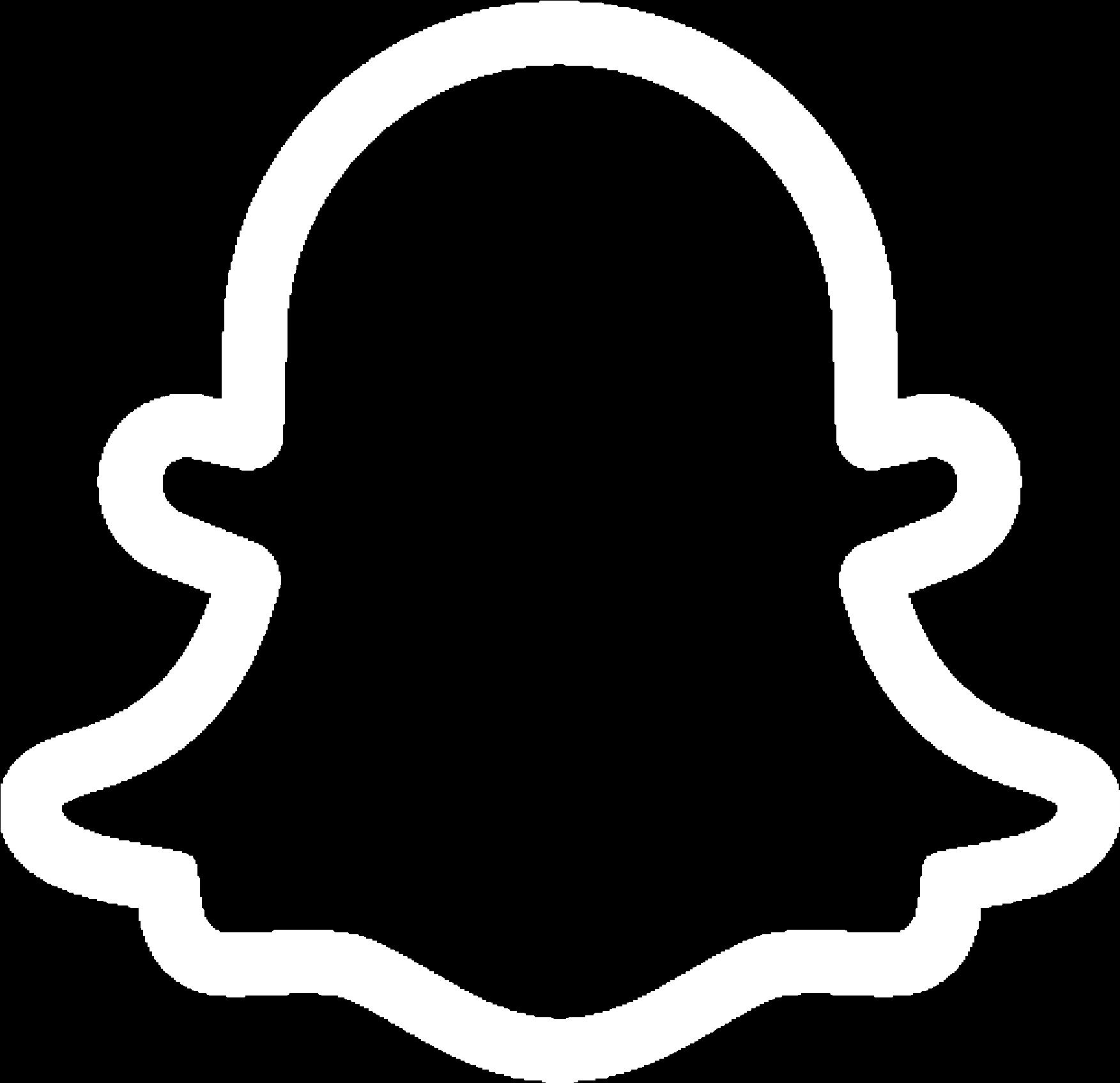 Snapchat Logo Png White.